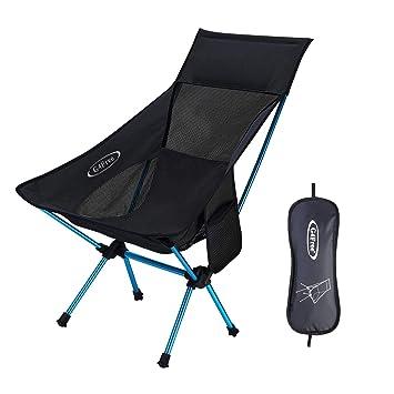 G4Free - Silla de Camping portátil, Plegable, Ligera, para ...
