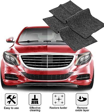 Rx Nano Sparkle Tuch Für Auto Kratzer Reparatur 2 Stück Auto Kratzer Entferner Mehrzweck Autolack Poliertuch Zur Reparatur Von Leichten Kratzfarben Und Wasserflecken Autoreinigung Nanotechnologie Auto