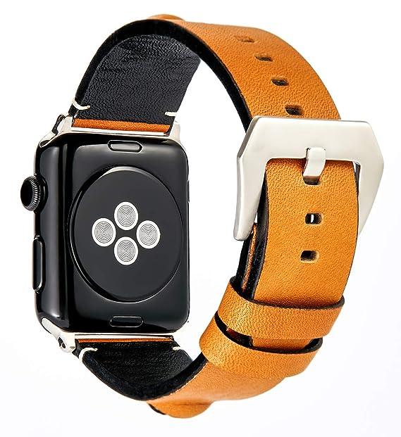 Amazon.com: 3D Eye Genuine Leather Watch Bands Male Women ...