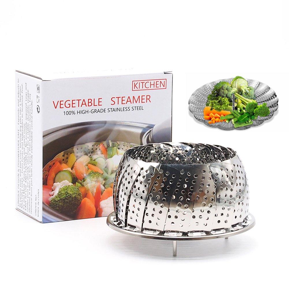 Akesky Vegetable Steamer Basket 5.5-9