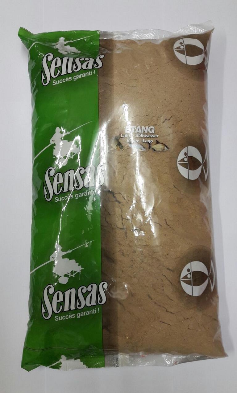 Sensas Prima Etang//Stillwasser 6,5kg Futter Lockfutter