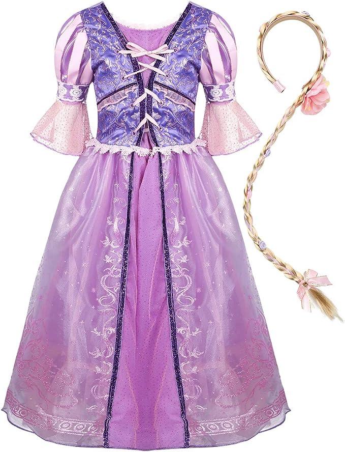 ranrann Disfraz de Sofía Princesa para Niña Vestido de Princesa ...