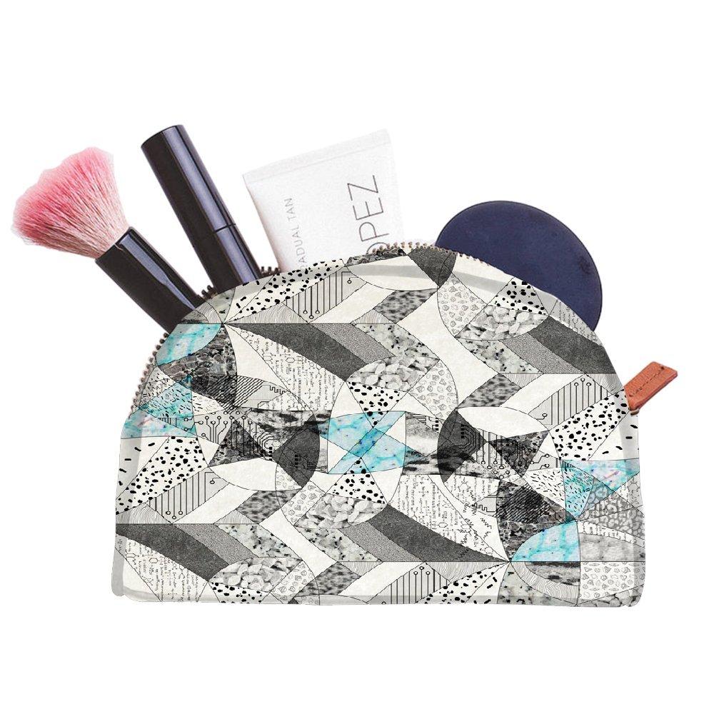 Snoogg Abstract Math multifonctionnel Toile Pen Sac trousse maquillage Outil Sac pochette de rangement Sac à main