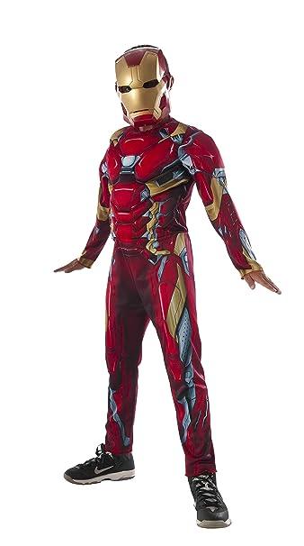 Amazon.com: Rubies Kids Captain America: disfraz de hierro ...