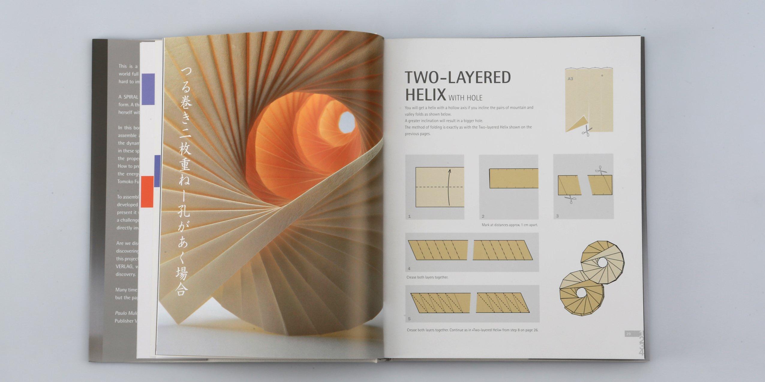 Brilliant Spiral Origami Art Design Amazon De Tomoko Fuse Koryo Miura Wiring Cloud Oideiuggs Outletorg