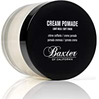 Baxter of California Cream Pomade, Natural Finish/Light Hold, Hair Pomade for Men, 2 fl. oz.