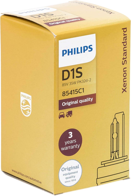 Philips D1s Xenon 85415 Xenstart Standard Xenon Headlight Bulb Car Lamp 12 V 35 W Low Beam Auto
