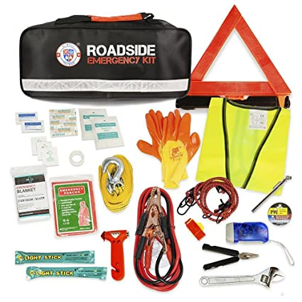 Always Prepared Roadside Emergency Kit (65-piece)