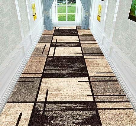 XOCKYUE Alfombras para Pasillo Modernas Lavables Antideslizante Largas Alfombra Escalera a Medida Impresión por Metros -0.8x4m: Amazon.es: Hogar