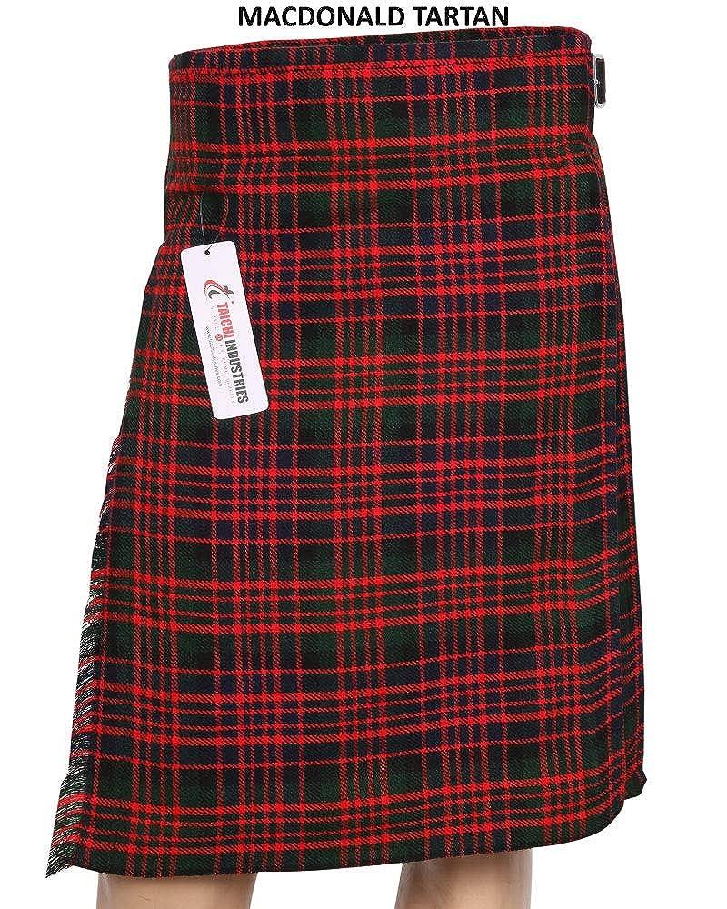 Mens 5 Yard Tartan Kilt Wedding Kilt Scottish Kilts