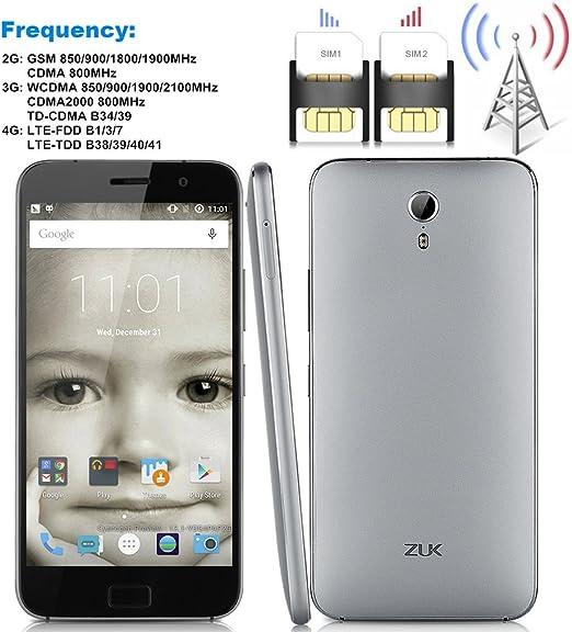 Lenovo ZUK Z1 4100mAh 5,1 Libre 4G Smartphone Android Doble SIM 2 ...