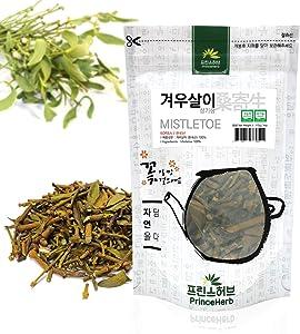 [Medicinal Korean Herb] Mistletoe (Visci Herba/Viscum Album/Hujisheng/겨우살이) Dried Bulk Herbs 4oz (113g)