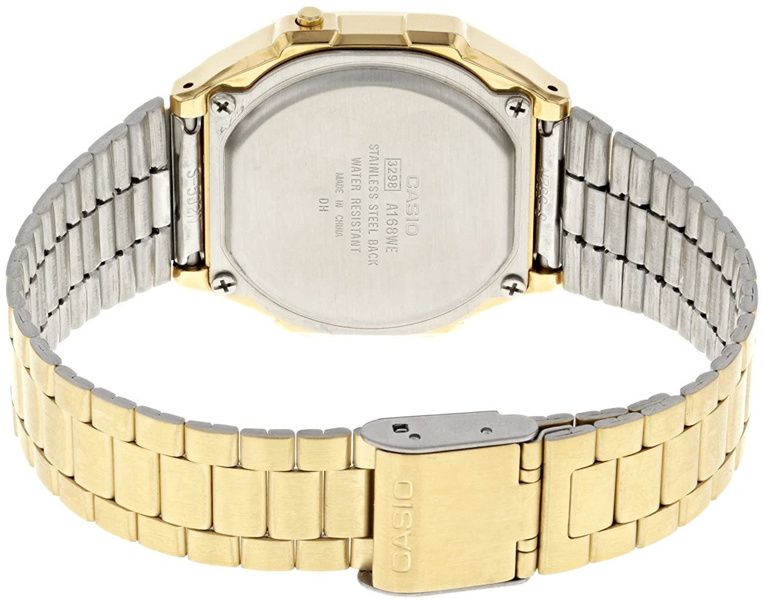 Amazon.com: Watch Casio Collection A168wegc-5ef Unisex Multicolour: Watches