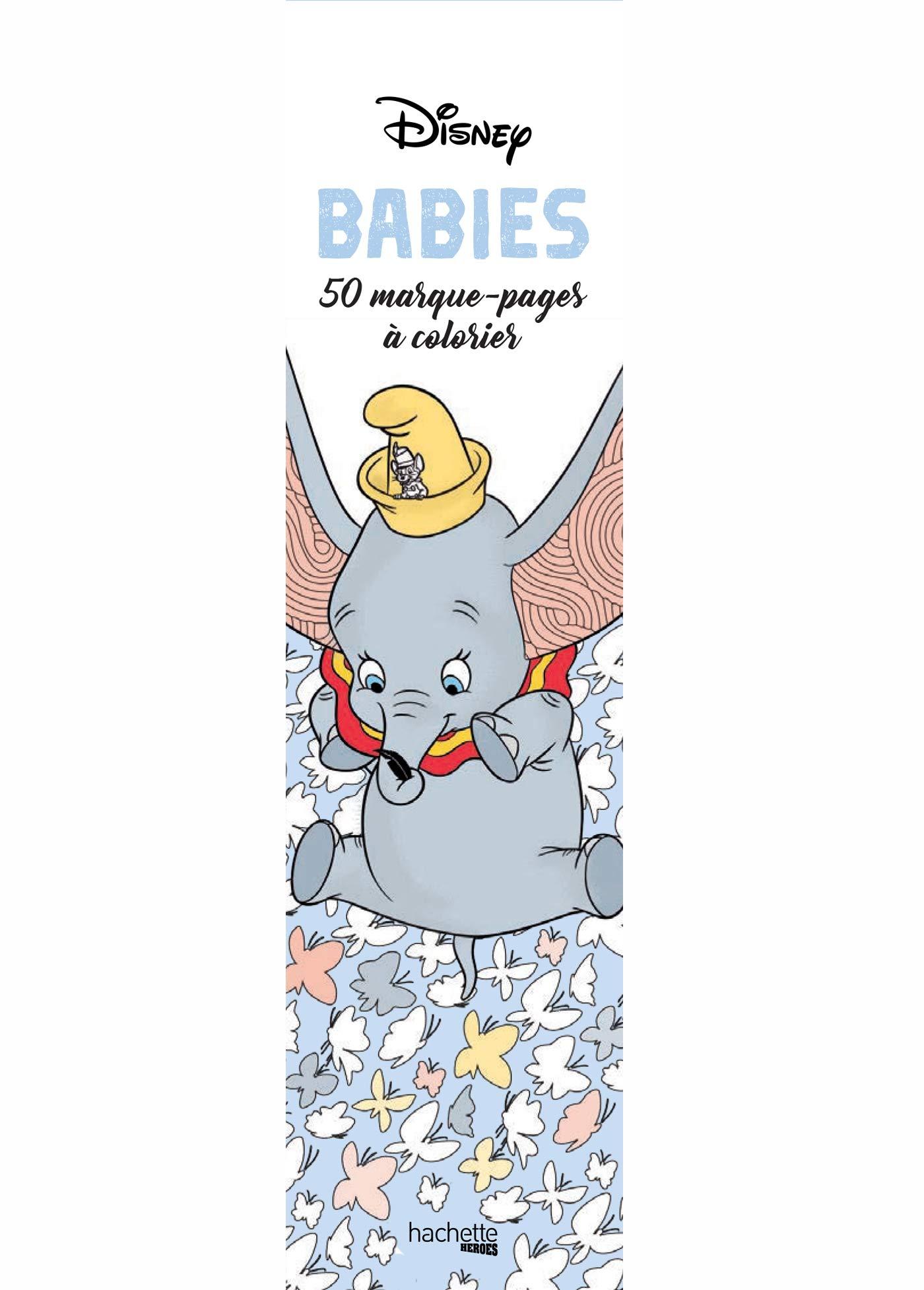 Marque Pages Disney Babies 50 Marque Pages A Colorier Ɯ¬ ɀšè²© Amazon