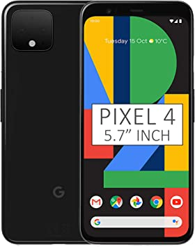 Google Pixel 4 G020M - Smartphone 4G y LTE (128 GB, 5,7 Pulgadas ...