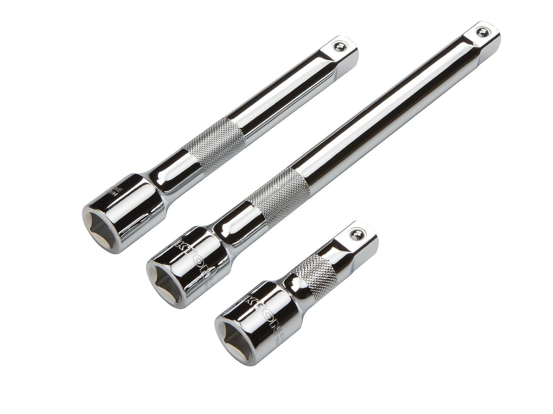 TEKTON 15625 3/8-Inch Drive Long Extension Bar Set, 3-Piece