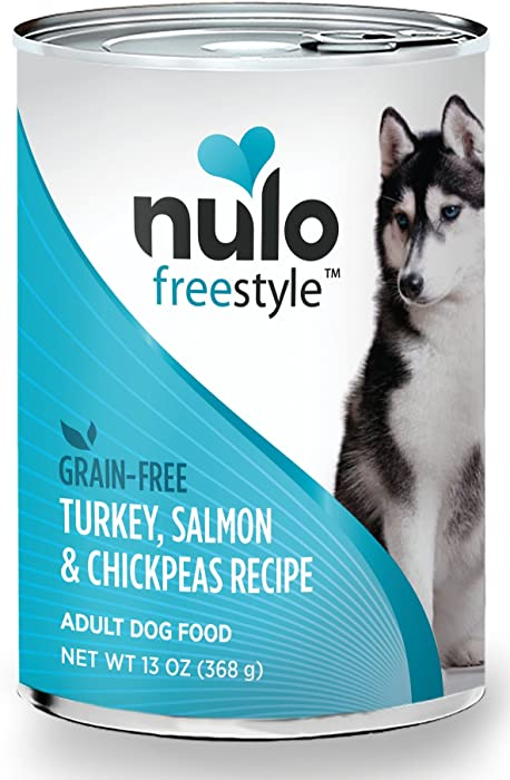 Nulo Grain Free Canned Wet Dog Food (13 oz, Salmon) - 12 Cans
