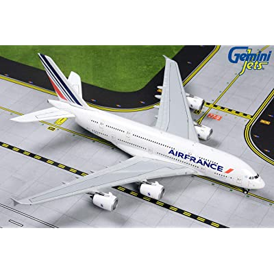 GeminiJets GJAFR1861 1:400 Air France Airbus A380-800 Airplane Model: Toys & Games
