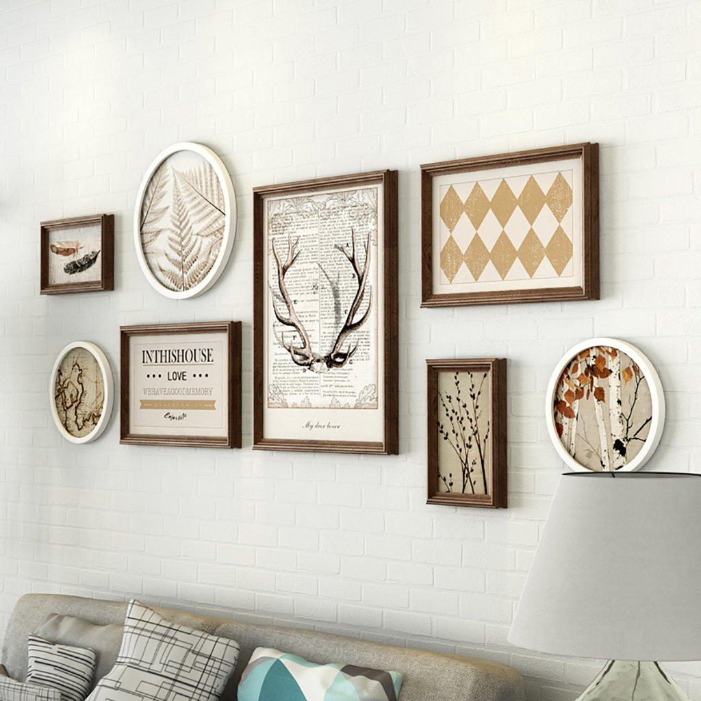 JLRQY Bilderrahmen Sets Für Wand-Collage DIY Bilderrahmen Sofa ...