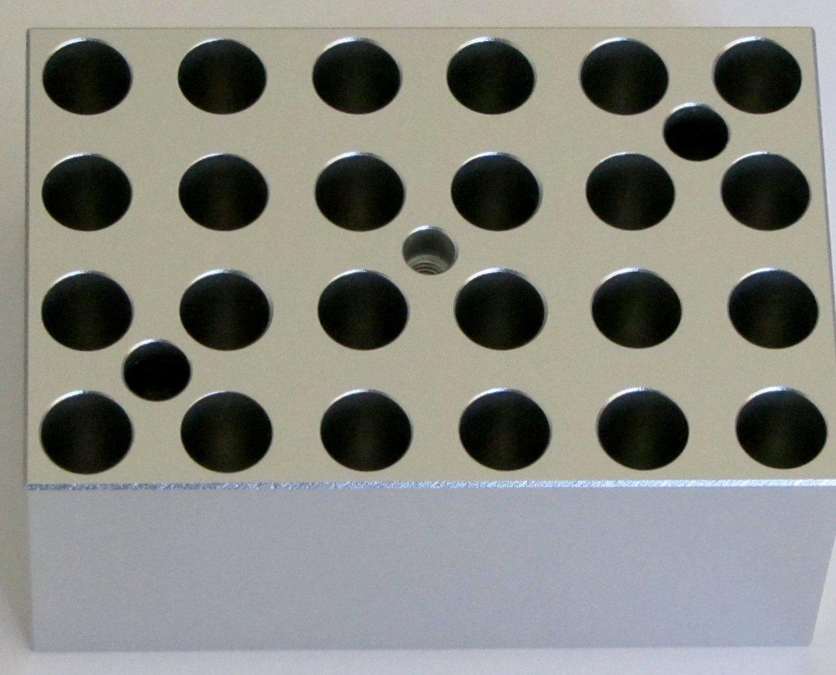 Heating Block for Minit-100 Dry Bath, Lab Heat Block for 0.5 Ml Tubes