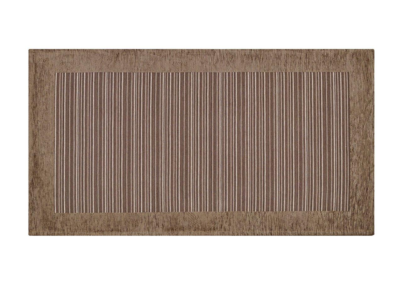 Tappeto Corsia Da Cucina Con Retro Antiscivolo Disegno Stripes By Suardi 55x80 Verde Capitan Casa