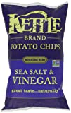 Kettle Chips Sea Salt and Vinegar Chips, 220 Gram