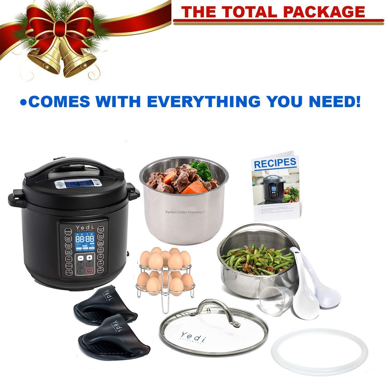 Steamer Recipes & 2Yr Warranty Hot Pot Slow Cook Pressure Cook ...