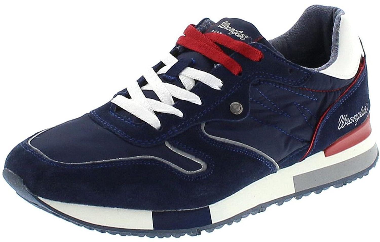 FB Fashion Stiefel Wrangler WM181081 WM181081 WM181081 Forest Navy Herren Turnschuhe Blau Freizeitschuhe d81542