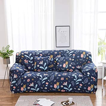 Home & Garden 1 Piece Sofa Covers 1 2 3 4 Seater Floral Sofa ...