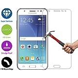 ZeWoo Protector de pantalla de vidrio templado para Samsung Galaxy J5 (5 pulgadas) ultra duro 9H *2.5D con un espesor de 0,33 mm