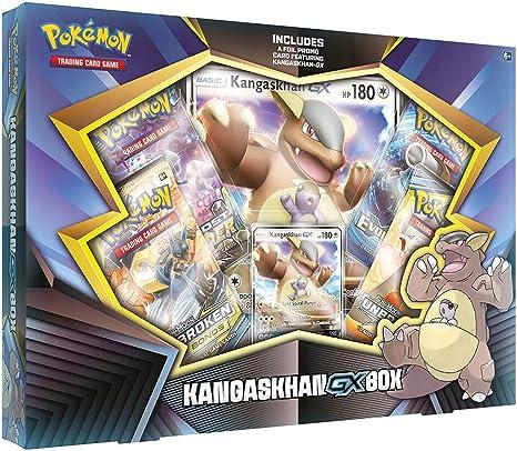 Pokémon POK80625 TCG: Caja Kangaskhan-GX, colores surtidos: Amazon ...