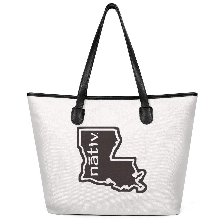 Sdesd Adsd Louisiana Nativ Women's Handbags Canvas Shoulder Bags by Sdesd Adsd