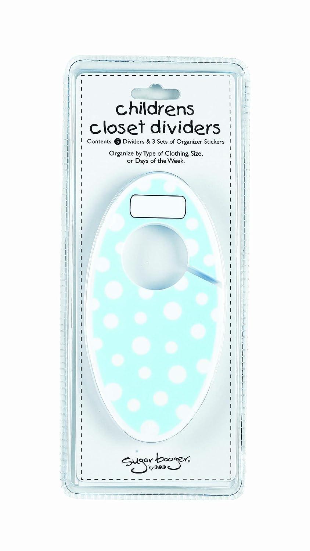 SugarBooger by Ore Closet Divider Set Pink Dot
