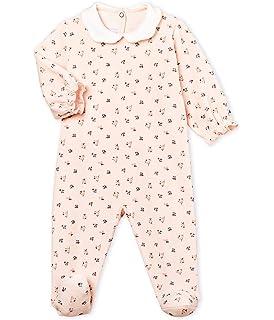 Petit Bateau Baby-M/ädchen Bristel Schlafstrampler