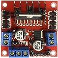 Honbay L298N Motor Drive Controller Board DC Dual H-Bridge Robot Stepper Motor Control & Drives Module for Arduino Smart Car Power UNO MEGA R3 Mega2560 Duemilanove Nano Robo