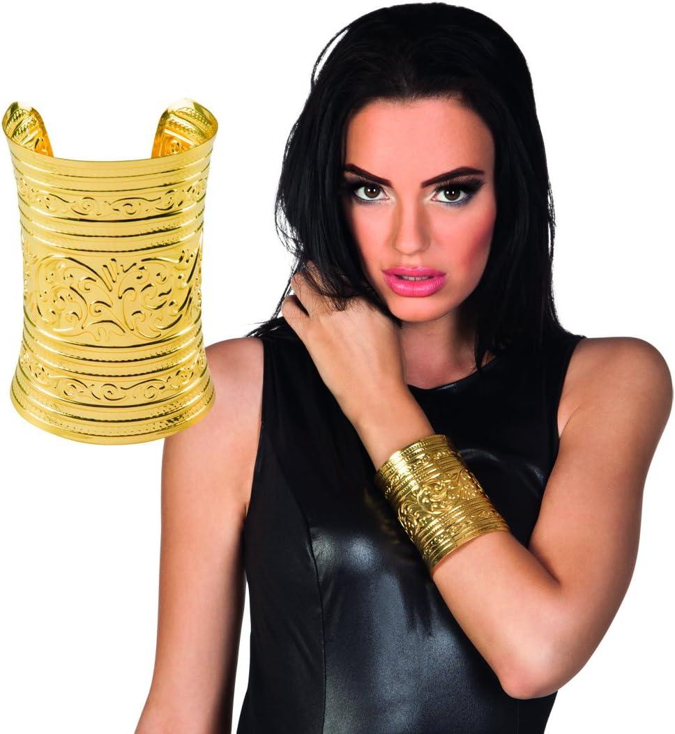 #cleopatra gold bracelet reine antique égyptien adulte soirée robe fantaisie accessoire