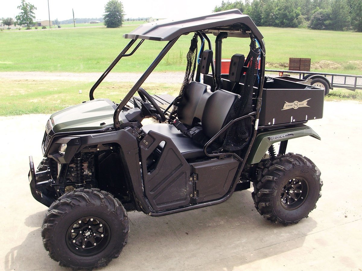 2015-2017 Honda Pioneer 500 Cargo Bed By Strong Made CB100