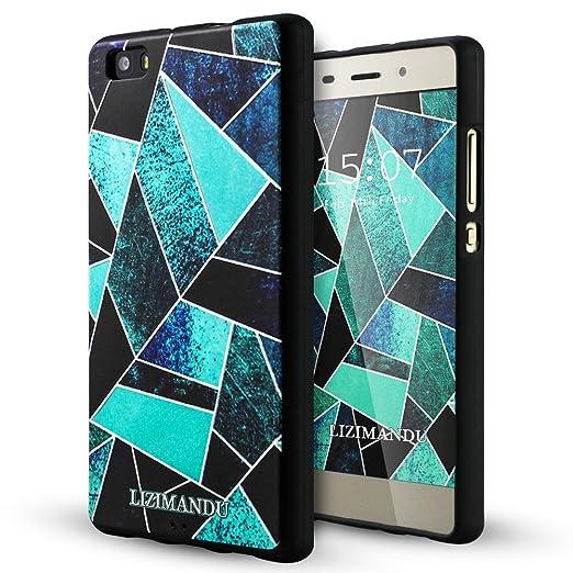 44 opinioni per Huawei P8 Lite Cover,Lizimandu Creative 3D Schema UltraSlim TPU Copertura Della