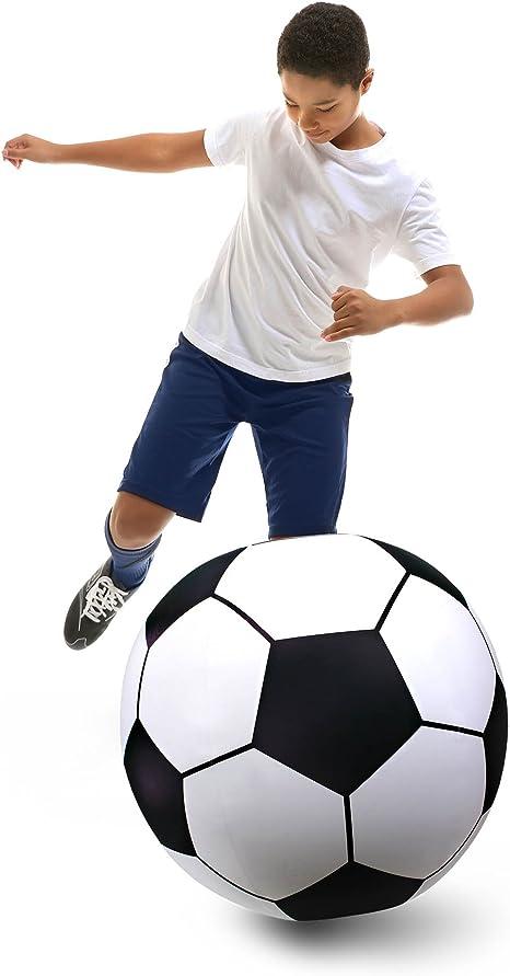 Amazon.com: gofloats 3 gigante hinchable Balón de fútbol ...