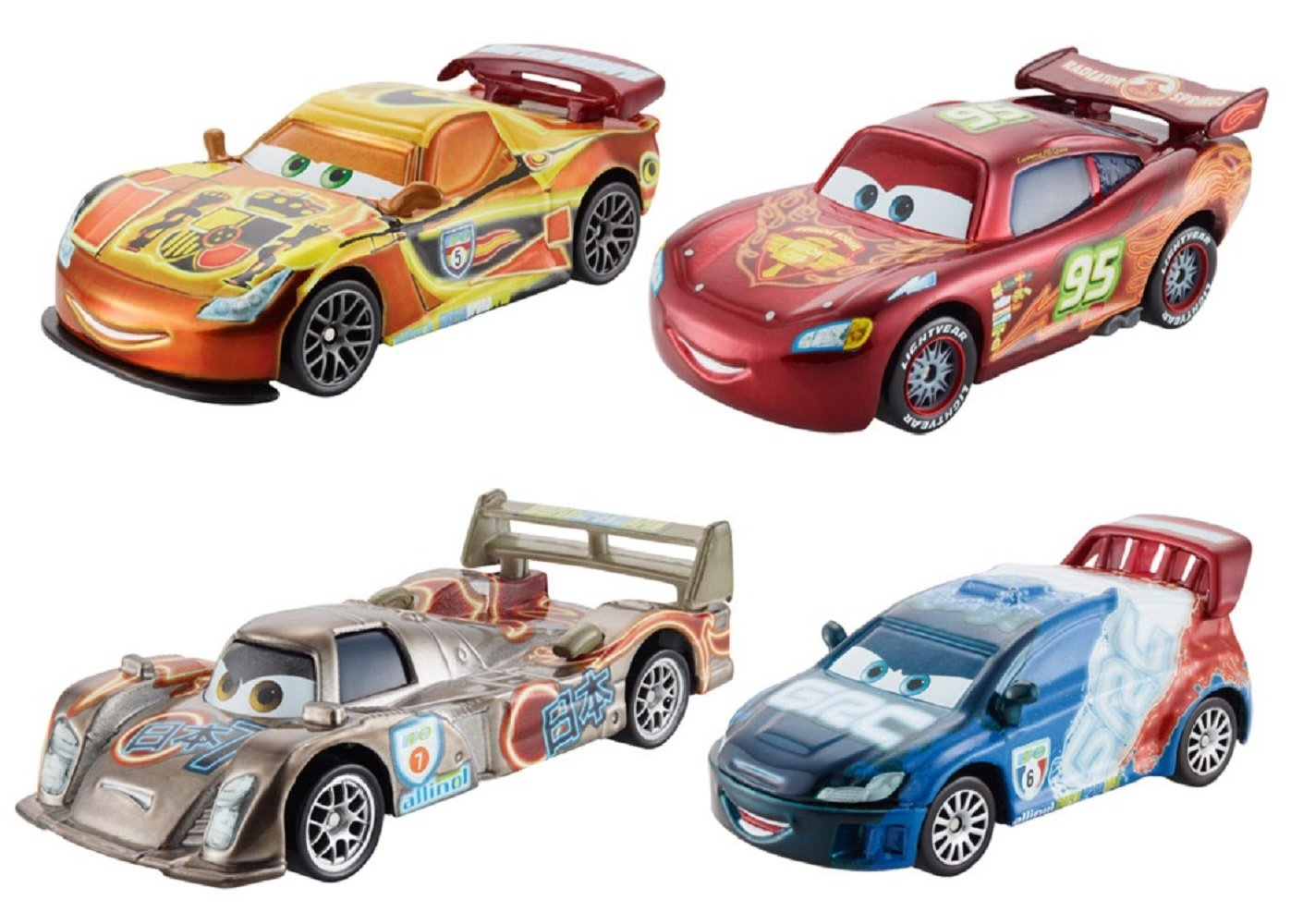 Amazon disneypixar cars neon die cast vehicle 4 pack toys amazon disneypixar cars neon die cast vehicle 4 pack toys games sciox Choice Image