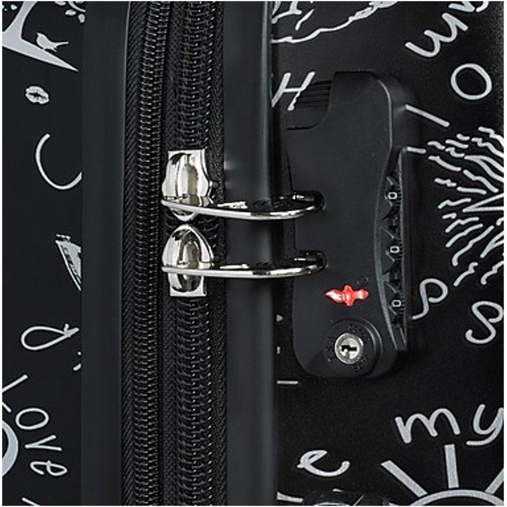 Mia Toro ITALY Love This Life-Medallions Hardside Spinner Luggage 3 Piece Set [20'', 24'' & 28''] by Mia Toro (Image #4)