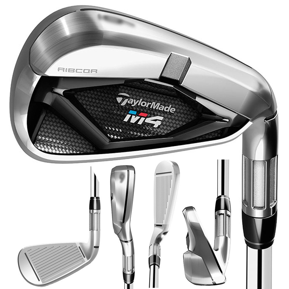 TaylorMade M4 Individual Iron 2018 Right SW Fujikura Atmos Red 6 Graphite Regular