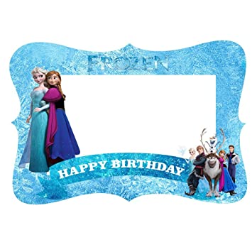 Buy Party Propz Frozen Theme Photobooth Frame 2ft Online At Low