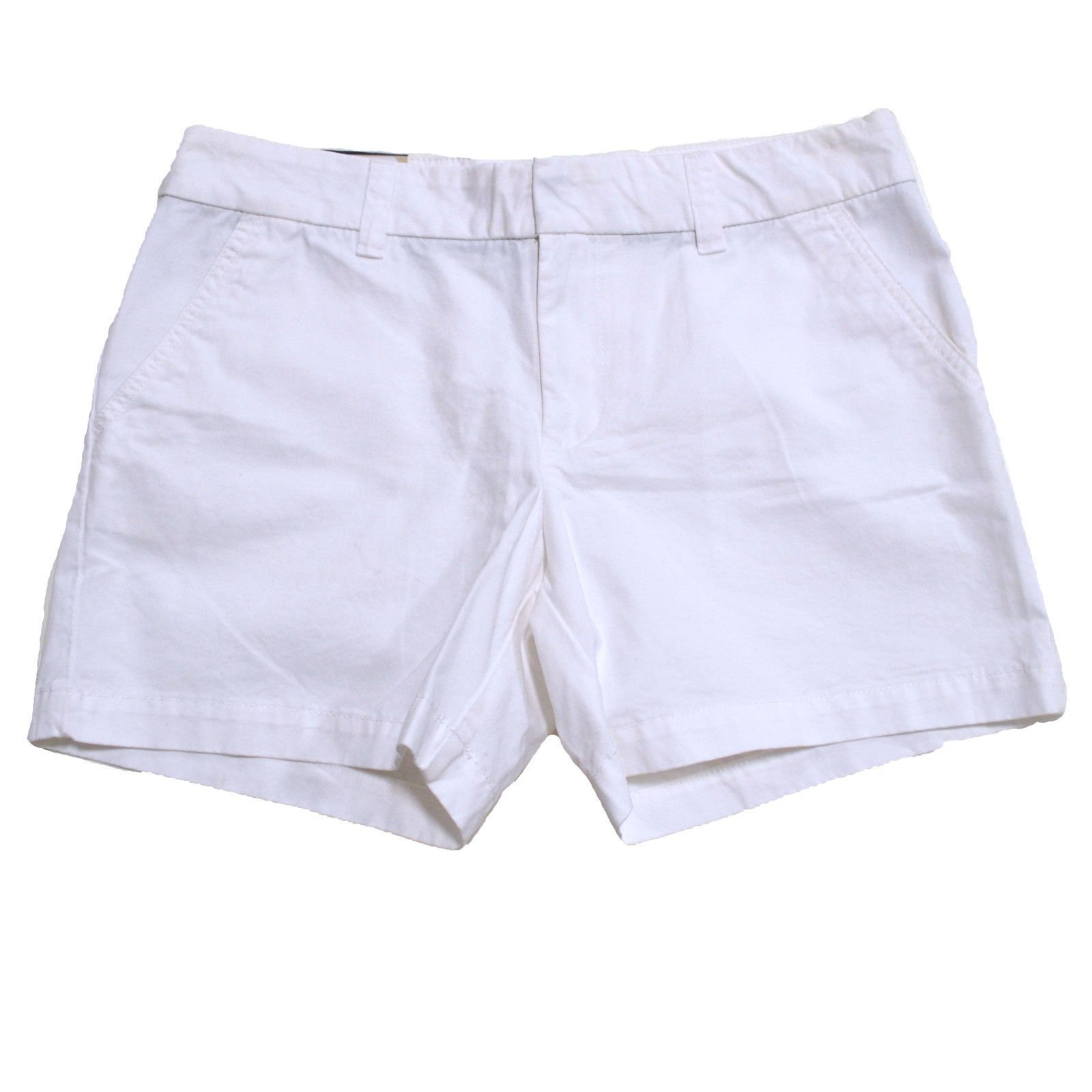 Tommy Hilfiger Womens Chino Shorts (White, 2)