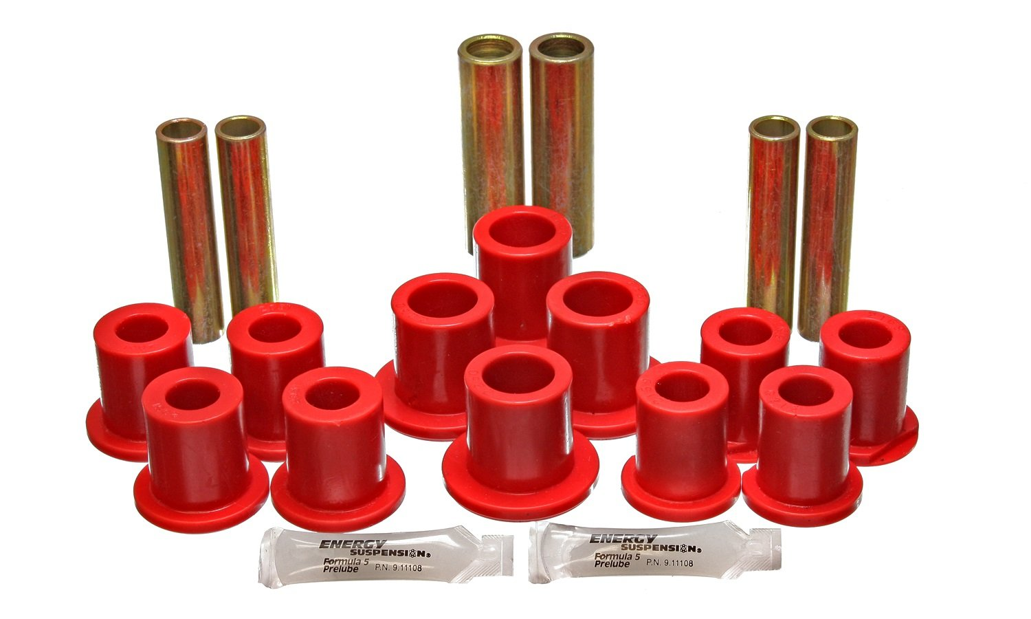 Energy Suspension 4.2145R Rear Spring Bushing Complete Set for Ford