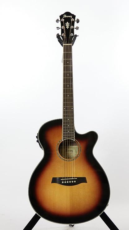 Ibanez aeg10ii Electroacústica guitarra (Vintage) de madera de ...
