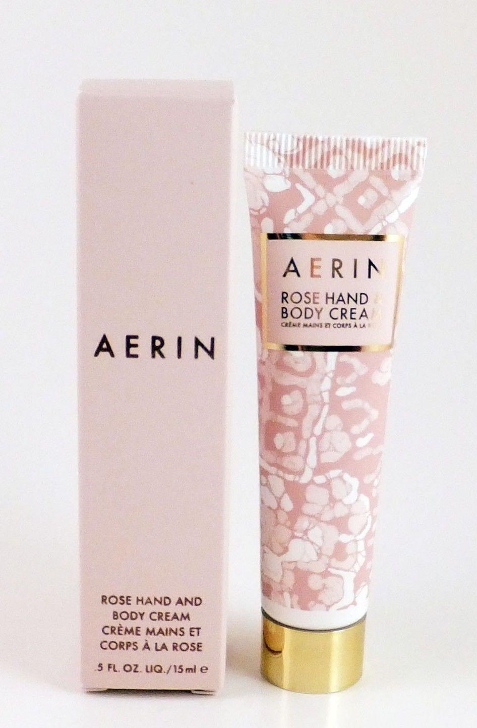 Aerin Rose Hand & Body Cream 0.5 oz - Deluxe Travel Size