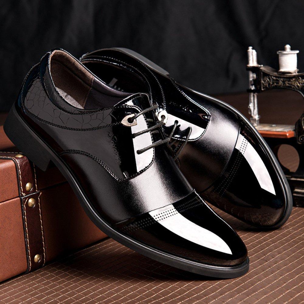 LEDLFIE LEDLFIE LEDLFIE Herren Echtleder Schuhe Business Formale Mode Schnürschuhe b5c807