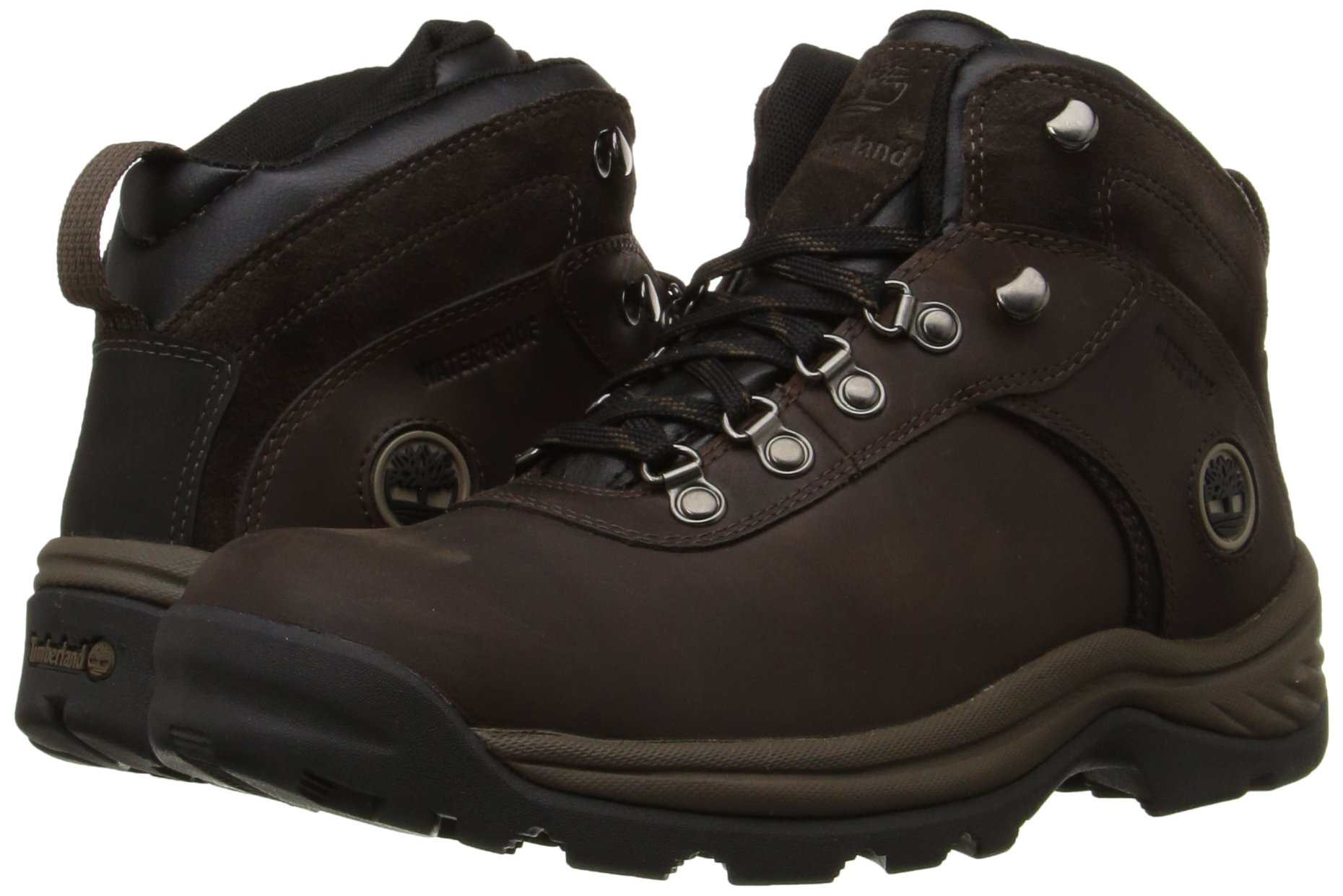 Timberland Men's Flume Waterproof Boot,Dark Brown,13 M US by Timberland (Image #6)