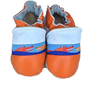 product image for GATOR Handmade in USA, All-Natural Leather Baby Shoes.